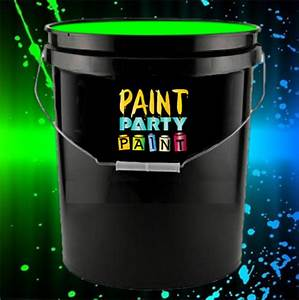 5 Gallon Washable Neon Paint Green Jena Consulting