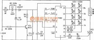 Electric Blanket Temperature Controller Circuit Composed
