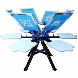 Techtongda 6 Color Silk Screen Printing Press Manual ...