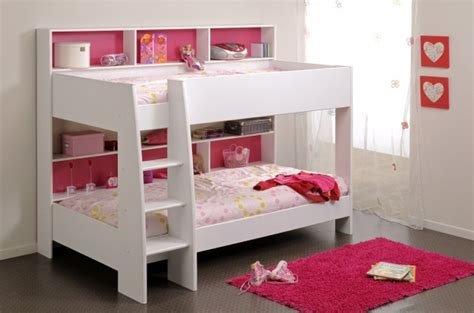 Parisot Bunk Bed by Parisot Thuka Beds Tam Tam 2 White Childrens Bunk Bed