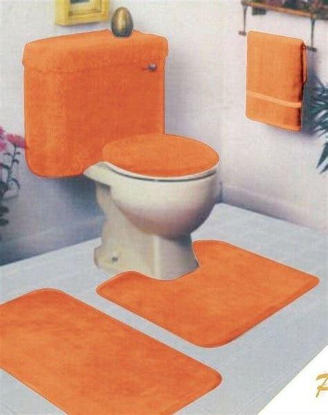 piece bathroom rug set ebay
