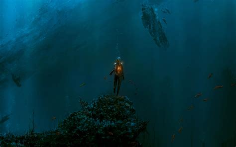 ocean hd wallpapers backgrounds wallpaper abyss