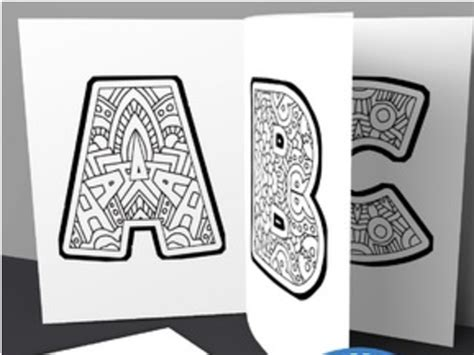 kids alphabet coloring book pages printable