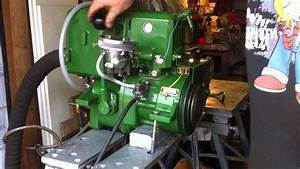 Vire 12 Hp Inboard Marine Engine  Running Test After Concourse Rebuild