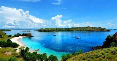 wisata asik  taman nasional pulau komodo nusa tenggara