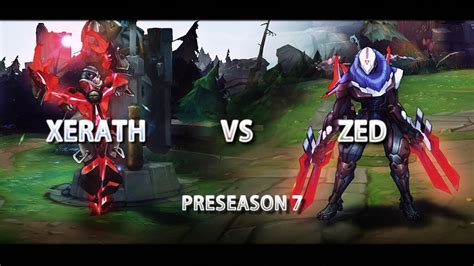 lol   counter zed xerath pre season  gameplay