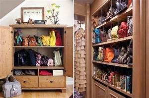 4 astuces pour ranger vos sacs à main • Maison