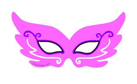 maschera da principessa  bambina da ritagliare