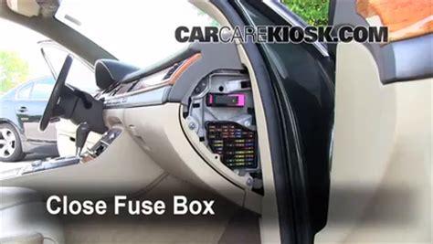 2006 Audi A8 Fuse Box by Interior Fuse Box Location 1997 2003 Audi A8 Quattro