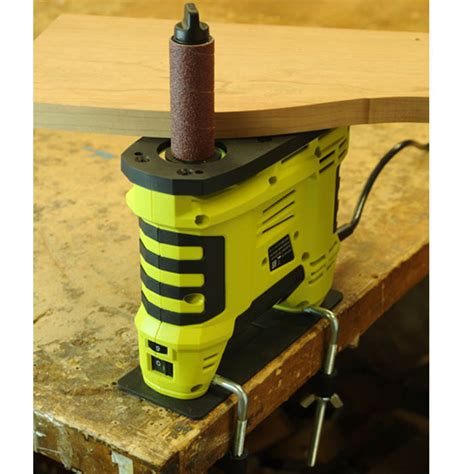 stock oscillating hand held spindle sander