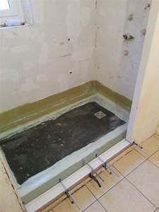 btreno carreleur oise pose de douche a l39italienne carrelage With carrelage douche à l italienne