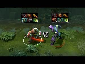 Dota 2 Juggernaut VS Faceless Void Auto Attack Duel YouTube