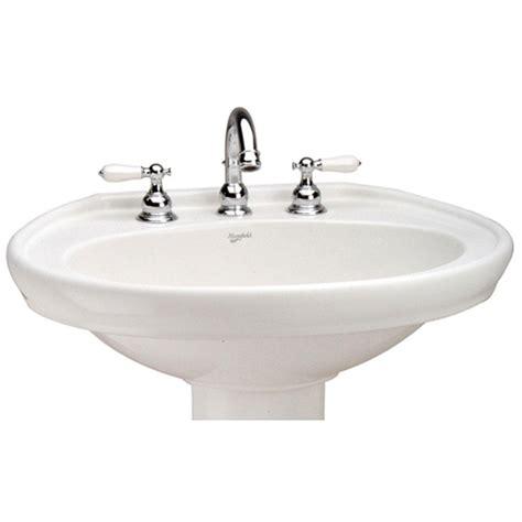 Mansfield Pedestal Sink 292 by Mansfield Plumbing Bathroom Sinks Pedestal Bathroom Sinks