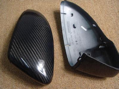passat cc carbon fiber oem mirror cover