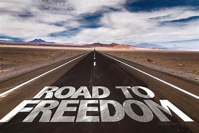 Freedom Financial Independence Road Written Journey Goal