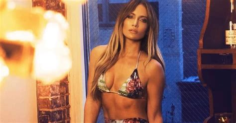 J Lo Gives Instagram A Literal View In Smoking Hot Outfit