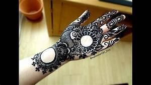 How To Apply Beautiful Easy Gulf Arabic Khaleeji Palm