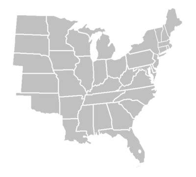 maps usa map blank