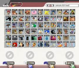 Super Smash Bros. Brawl All Characters