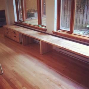 Banquette Sur Mesure : mobilier bois et acier sur mesure j r me lavoie b niste ~ Premium-room.com Idées de Décoration