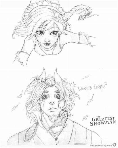 Showman Greatest Coloring Pages Cartoon Drawing Printable