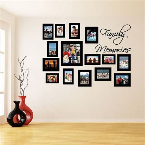 wall frame sticker picture frames stickers photo vinyl