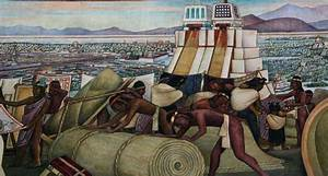 Images of Murals by Diego Rivera in the Palacio Nacional ...