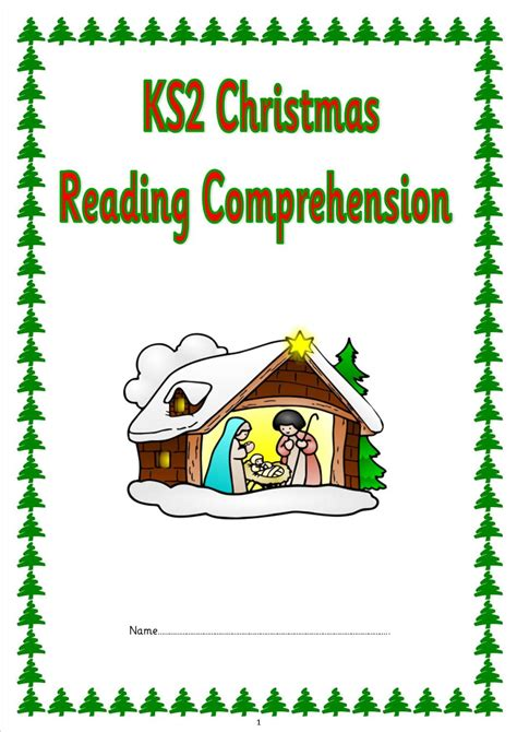 Eyfs, Ks1, Ks2, Sen, Christmas Comprehension Papers, Sats Style