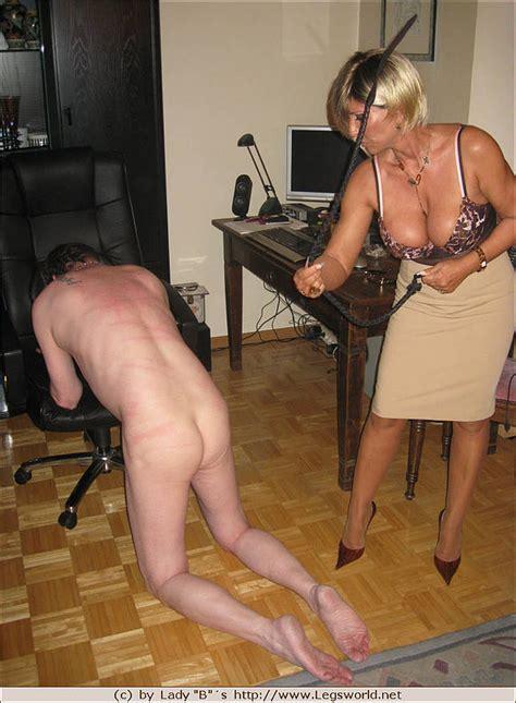 Horny Cute Blonde Milf Spanking And Teasing Mature Sissy Sex Slave