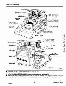 Bobcat 553 Repair Manual Skid Steer Loader 516311001