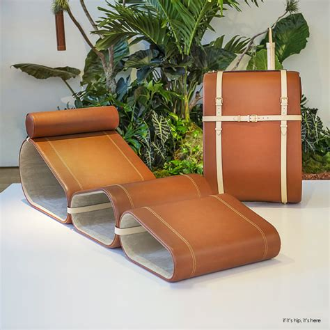 chaise nomade marcel wanders portable lounge chair for louis vuitton