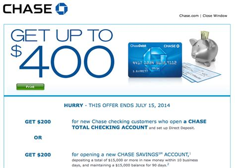 Chase Bank Deal Up To $400 Cash Bonus For New Checking. Program Management Professional Certification. Movers Jacksonville Fl House Loan Information. Used Cars Middletown Nj Pay Per Click Adwords. What To Get A Masters Degree In. Java Certification Worth It Fiat 500 Keyring. Columbus Ohio Chiropractor Pilates Wichita Ks. Virtual Training Assistant Reward For Points. College Degree In 6 Months Cheapest Cable Tv
