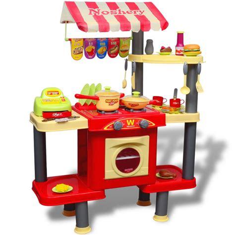 cuisine jouer acheter cuisine jouet grande pour enfants pas cher vidaxl fr