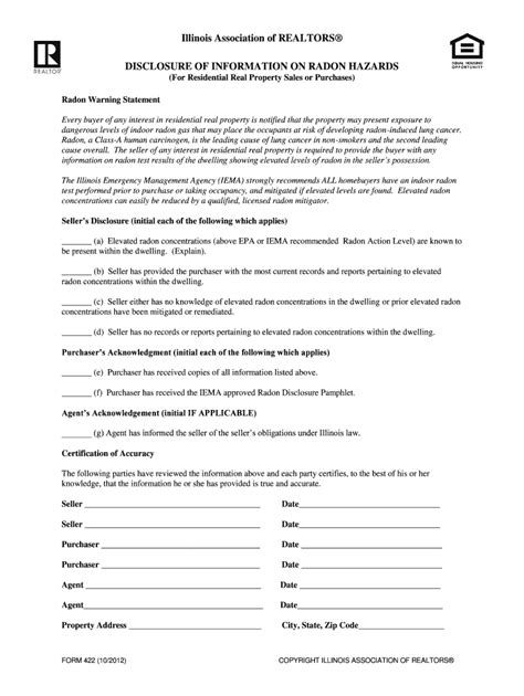 form radon fill  printable fillable blank