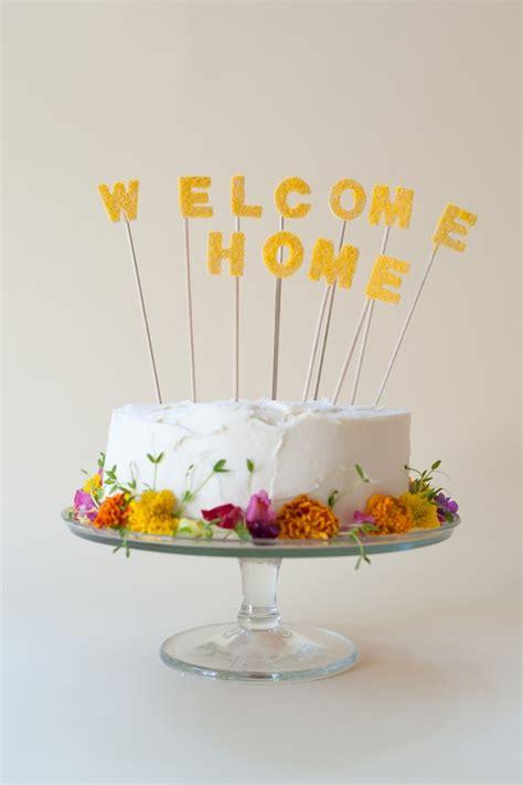 home cake topper diy