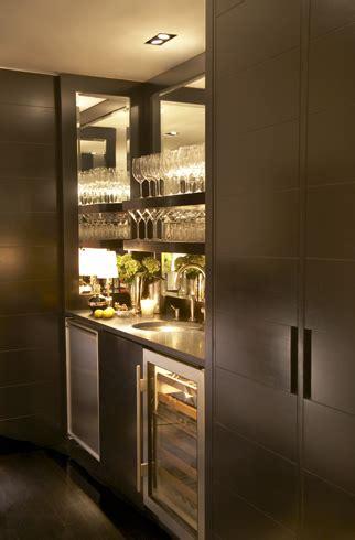 espresso cabinets contemporary kitchen paul davis