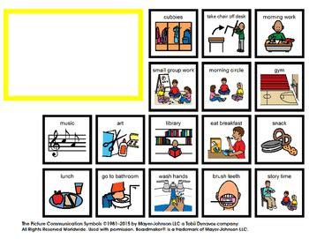 visual schedule  school  bonus token economy chart