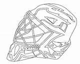 Coloring Hockey Goalie Jason Mask Drawing Voorhees Ice Nhl Colouring Logos Template Helmet Printable Getdrawings Getcolorings Templates sketch template