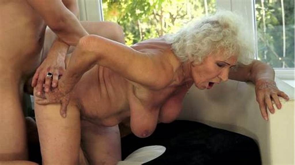 #Handsome #Guy #Fucks #Disgusting #Busty #Granny #Norma #In #Doggy