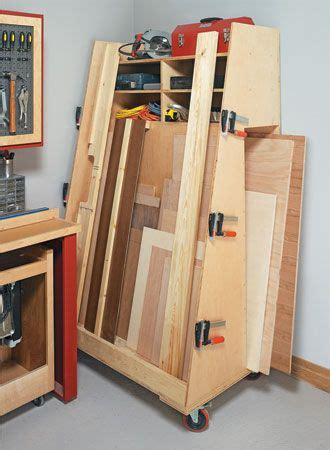 corral  lumber  plywood   easy  build cart