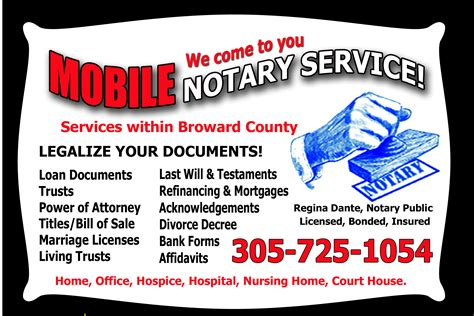 broward county mobile notary