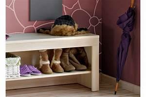 Banc Pour Dressing : meuble d 39 entr e rangement vestiaire miroir banc ~ Teatrodelosmanantiales.com Idées de Décoration
