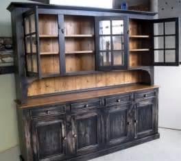 Rustic Dining Room Hutch