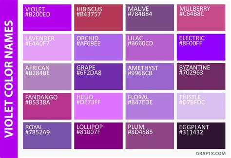 purple blue color pin by benzfossil on shades of color colour palette