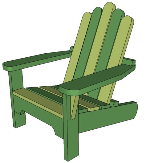 woodworking plans how to draw adirondack chair pdf