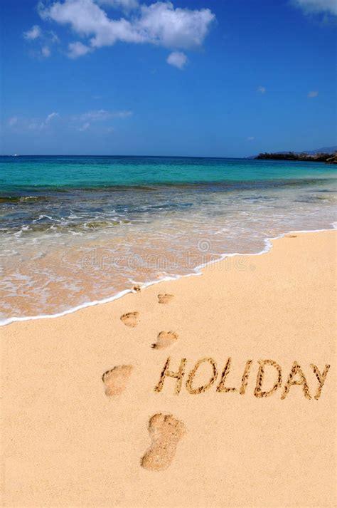 word holiday   beach stock image image  nature