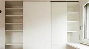 comment poser des portes de placard coulissantes With pose porte de placard