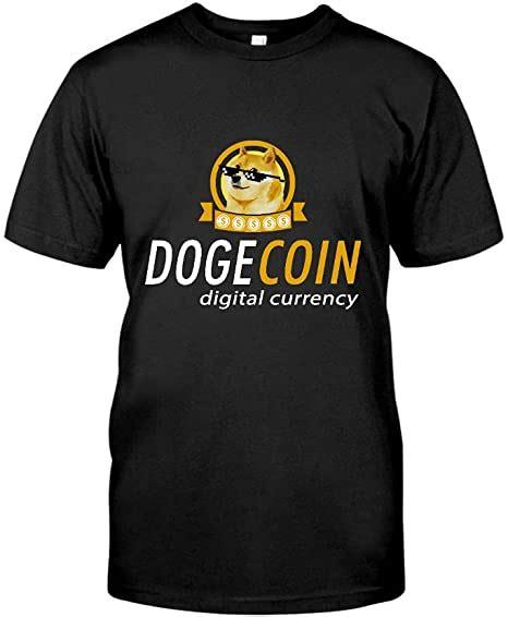 Situen Dogecoin Digital Currency Funny Doge Dog Men's ...