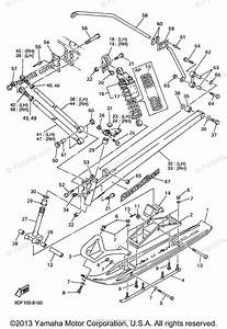Yamaha Snowmobile 1998 Oem Parts Diagram For Ski