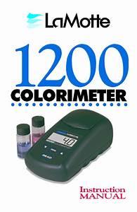 Hach Pocket Colorimeter Ii User Manual